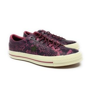 Rare! Converse One Star Snake Low Top Trainer